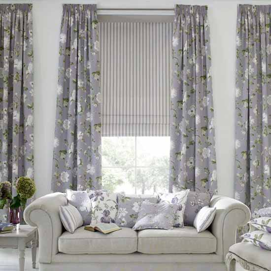 Curtain ideas for your living room for Curtains in a living room