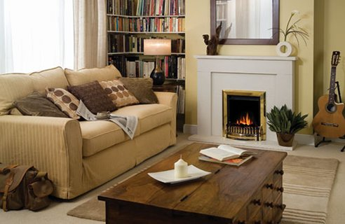 Fireplace In Your Living Room - SweetHomeDesignIdeas.