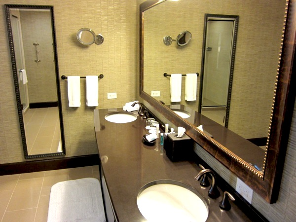Hidden Camera in a Bathroom