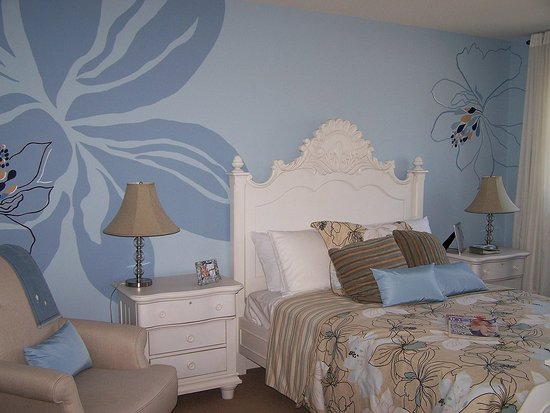 Ideas for bedroom paintings for Bedroom paint pattern ideas