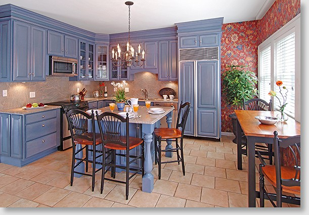 Victorian kitchen design cabinets victorian kitchen for Victorian kitchen ideas