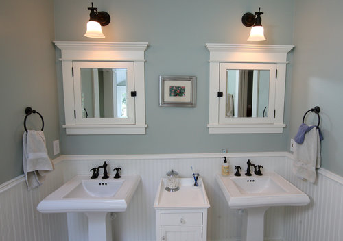 The Steps on Bathroom Facelift