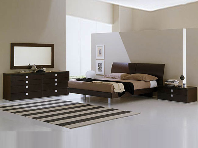 All about contemporary bedroom furniture Modern bedroom designs 2012