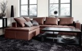 <b>Ideas Of Living Room With Brown Sofas</b>
