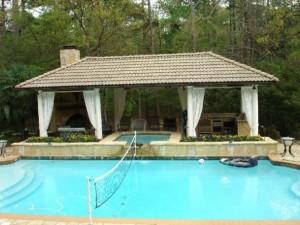 Modern Cabana Pool