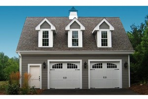 2 Car Garage with Apartment