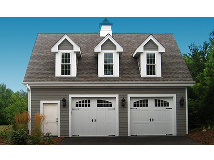 2 car garage with apartment 2403 for Garage apartment plans 2 car