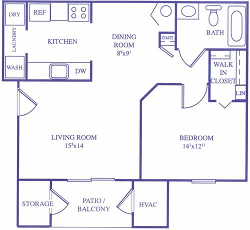 Apartment floor plans 2339 500 square foot apartment floor plans