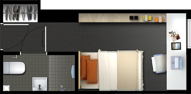 Bedroom Layout Planner 2111