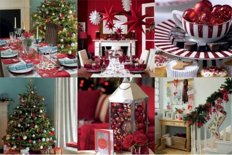 Christmas decorating ideas 2095 for Christmas home decorations pictures