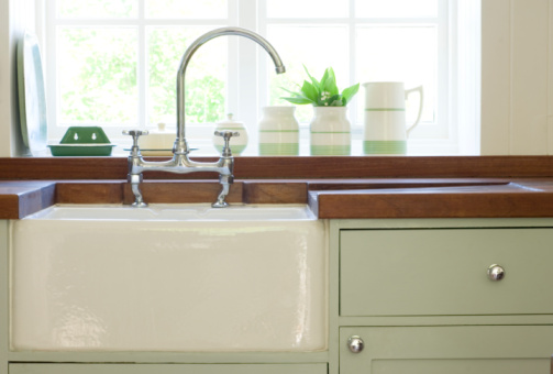 Superieur Dirty Porcelain Kitchen Sink