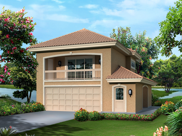 Garage Plan With Apartment (2322)