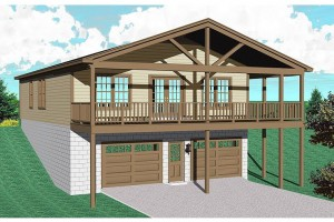 Garage Plans and Garage Designs by Design Connection
