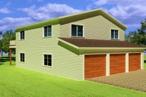 Garage Plans with Apt Above
