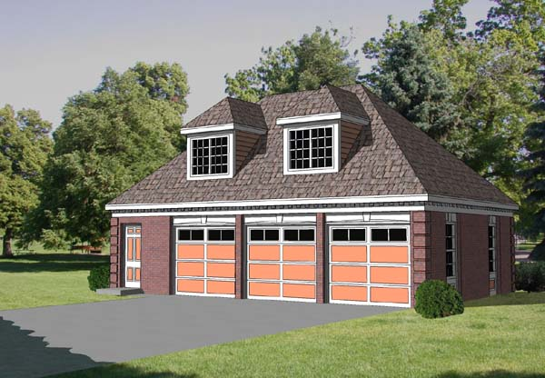 Garage plans with living quarters 2350 for Garage designs with living space above