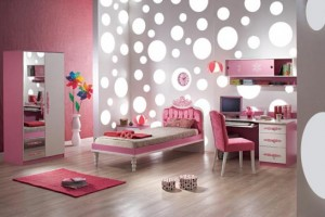 Girls Bedroom Layout