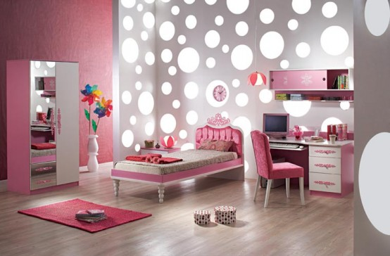 Girls Bedroom - Girls Bedroom Design