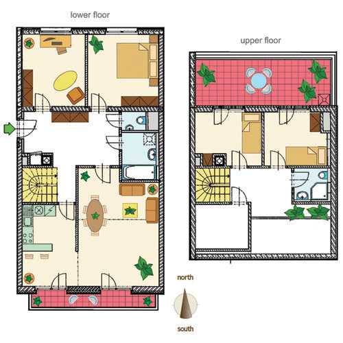House plans with basement apartments 2446 for Basement apartment floor plans
