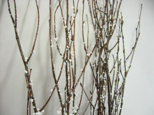 The Use of Natural Branches for Christmas