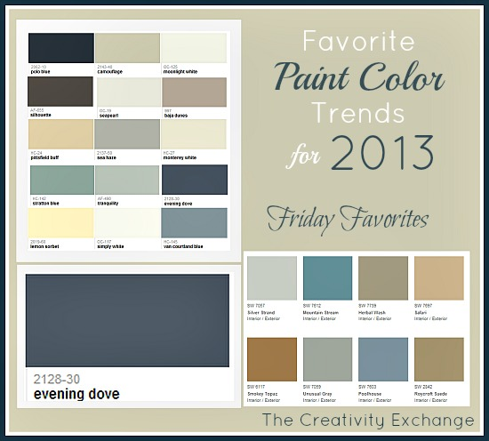 Popular Interior Paint Colors for 2013