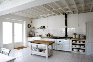 Awesome sharp white kitchen