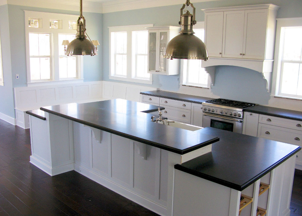 White kitchen cabinet doors - SweetHomeDesignIdeas.
