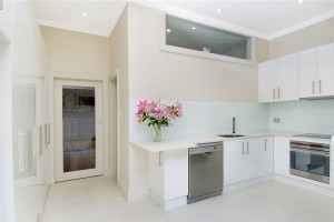Designer white kitchen