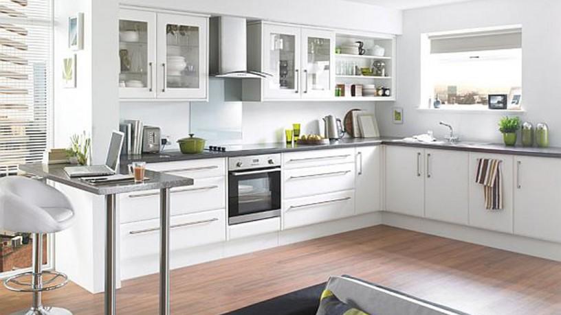 Fantastic white kitchen decor