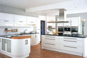 Frescho white fitted kitchen