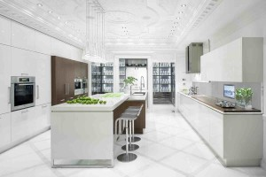 Incredible white kitchen